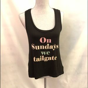 EXPRESS One Eleven T Shirt On Sunday's we tailgate